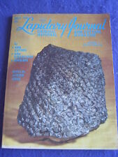 LAPIDARY JOURNAL - SPECIAL JUNIOR ISSUE - July 1975 v 29 # 4