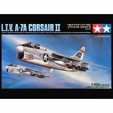 Tamiya 61607 LTV A7A Corsair II 1/100 scale plastic model kit