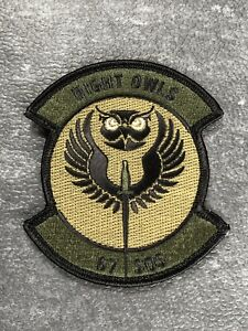 RAF Mildenhall USAF MC130 67th Special Operations Squadron Night Owls Patch