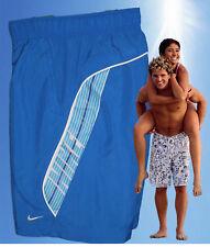 NUOVO Nike Annuncio Attivo Atletico DEPT Pantaloncini Da Spiaggia Sport Pantaloncini Royal Blue M