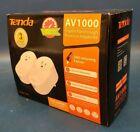 Tenda, PH6 AV1000 Gigabit Passthrough Powerline Adapter Kit.