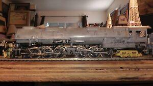 H.O Diecast Metal & Brass Bowser U.P. Challenger 4-6-6-4 Runs Very Well On Track