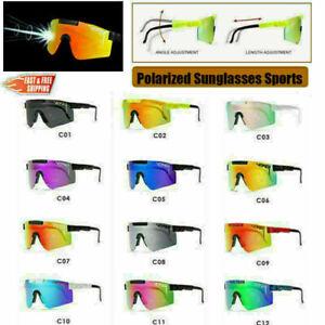 New Unisex Original Pit Viper Sport Goggles UV400 Polarized Sunglasses Outdoor