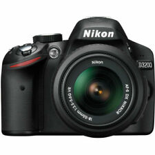 Nikon D3200 24.2 MP Digital SLR Camera with 18-55mm and 55-200mm Lens Kit -...
