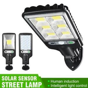 IP65 LED Solar Wall Light Motion Sensor Outdoor Garden Security Street Lamp