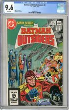 Batman & the Outsiders  #2  CGC  9.6   NM+  White pgs  9/83   Mike W. Barr story