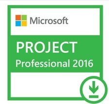 GENUINE Microsoft Project 2016 Professional Key - Lifetime Licence for 1 PC