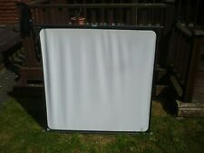 VINTAGE FINS PROJECTOR SCREEN IN ORIGINAL SLEEVE