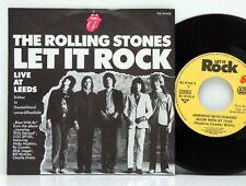 "Rolling Stones       Let it rock       RS  19 102 X      ""7       NM  # 1"