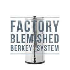 Big Berkey Water Filter w/ 2 Black Berkey Purifiers - Factory Blemished - NEW