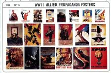 Verlinden Productions 1:35 WWII Allied Propaganda Posters Diorama Accessory #15