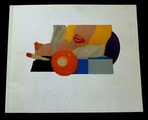 TOM WESSELMANN Paintings 1962-86  1988 ART EXHIBITION CATALOGUE