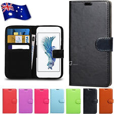 Wallet Flip Stand Leather Universal Case Cover For New HTC ONE M8 & M8S 10 Evo