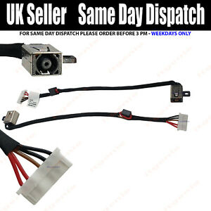 DC Power Jack harness cable Dell Inspiron P51F P51F001 Charging Port Plug Socket