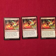 MTG X3 Make Mischief Eldritch Moon Magic the Gathering Red Sorcery Cards