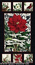 Panel NOEL PATCHWORK substances Noël substances patchwork décoration de Noël substances