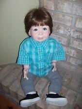 "Lee Middleton Original Prince William 1983 Blue Eyed Brown Hair 27"" Doll Rare"