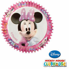MINNIE MOUSE CupCake Baking Decoration Party Cups LINERS Cake Birthday Supplies