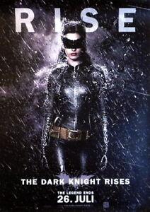 BATMAN: THE DARK KNIGHT RISES original Kino Plakat A1 gerollt 2012