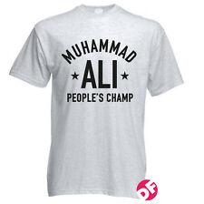 Muhammad Ali People's Champ ALI T-shirt WWF Retro WWE Gym Men+Kids Tshirt NEW