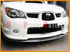 Carbon Fiber STI Type Front Bumper Lip Spoiler For 2006-2007 Subaru WRX STI GDF