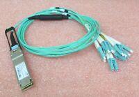 Brocade 57-1000129-01 40Gbase-SR4 Ethernet QSFP 40GbE 40G-QSFP-SR4-INT + cables