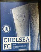 2019 UEFA Europa League Final Programme Chelsea Winners Edition MINT WITH POSTER