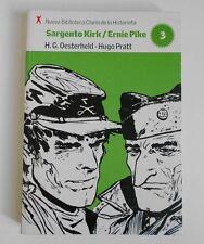 Sargento Kirk Ernie Pike H.G. OESTERHELD HUGO PRATT COMIC Spanish
