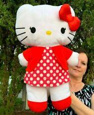 """RARE Vintage Sanrio Hello Kitty LARGE Pillow Doll 22"""" Plush Stuffed Animal Toy"""