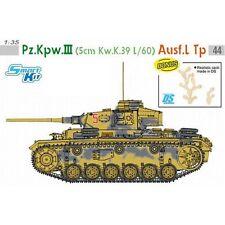 DRAGON GERMAN PZ.KPFW III 5 CM KW K39 L/60 AUSF L TP Scala 1/35 Cod.6587