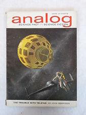 ANALOG Science Fact - Science Fiction June 1963 Vol. 71, No. 4 Conde Nast, NY