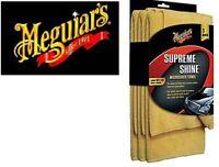 Meguiars Supreme Shine Microfiber Towel (3Pack)