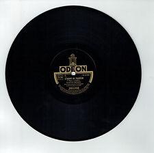 78T Marcel MERKES Disque Phonographe BOLERO D'AMOUR Chanté ODEON 282056 RARE