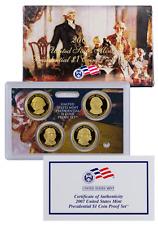 2007 S PROOF PRESIDENTIAL 4 COIN SET, WASHINGTON-MADISON, BOX & COA, CAMEO!