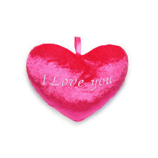NEW PINK MINI I LOVE YOU HEART PILLOW