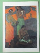 Vintage Paul Gauguin Postcard Art - Maternity, Women By the Sea - 1899