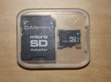 CnMemory Micro SD 16 GB Speicherkarte mit Micro SD Adapter und Schutzhülle