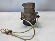 Elkhart Cj B 25 Brass Fire Hose Nozzle