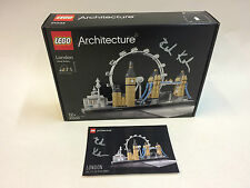 New LEGO 21034 Architecture London Skyline Signed by Designer Rok Zgalin Kobe
