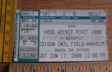 KROQ Weenie Roast 2000 concert ticket Black Sabbath Creed Cypress Hill KORN