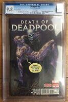 Deadpool #45 Death of Deadpool Tony Moore Variant CGC 9.8