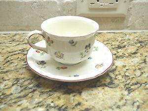 Villeroy & Boch Petite Fleur cup and saucer