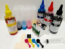 CISS + Dye ink for use in Epson WF-7710 WF-7720 WF7210 WF-7220 T252 T2521 252