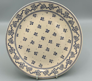 "Johnson Brothers Laura Ashley Petite Fleur Blue  - 9,7/8"" Dinner Plate."