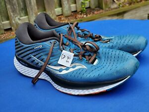 Saucony S20548-25 Men's Guide 13 Running Shoes Sneakers Blue Size 12.5 US