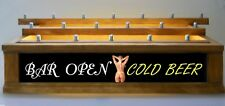 LED  Lighted beer Tap handle display ADULTS ONLY NUDE LADY