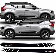 Volvo XC40 R Design Side Stripes Graphics Decals Stickers any colour xc 40