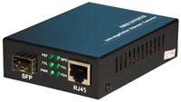 Ethernet Media Converter mediaconverter: SFP slot (port) to 10/100/1000 RJ45
