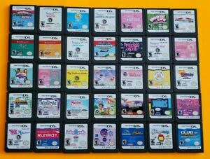 Nintendo DS Games Girl Lot ~ Super Fun Pick/Choose Game/s ~ Dora Mario Barbie