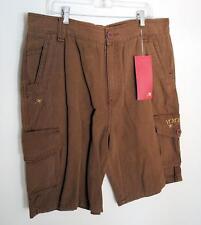 Innes Chang Pantalones Cortos Talla 36 NOS Marrón Militar